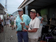 Dr. Gary and Ed flounder tournament winners