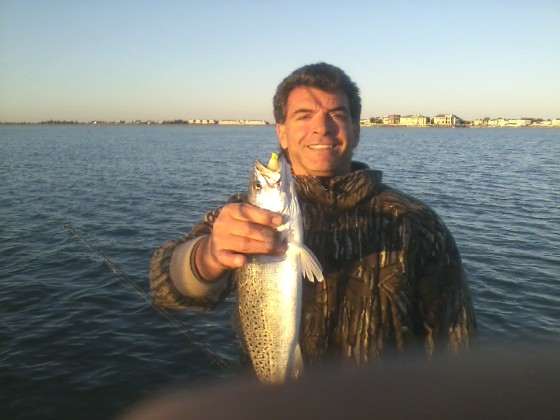 A Jersey speckled trout.  One of Cape May's best kept secrets.