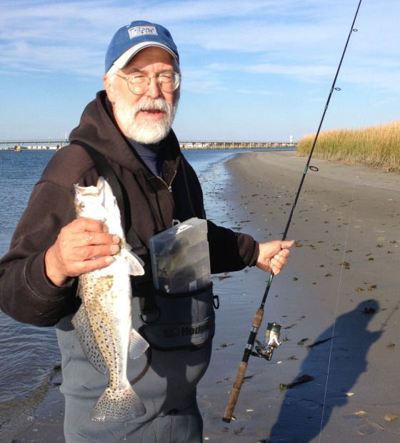 Cape May co. Speckled sea trout