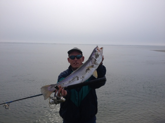 Ed Teise  with a beautiful tide runner