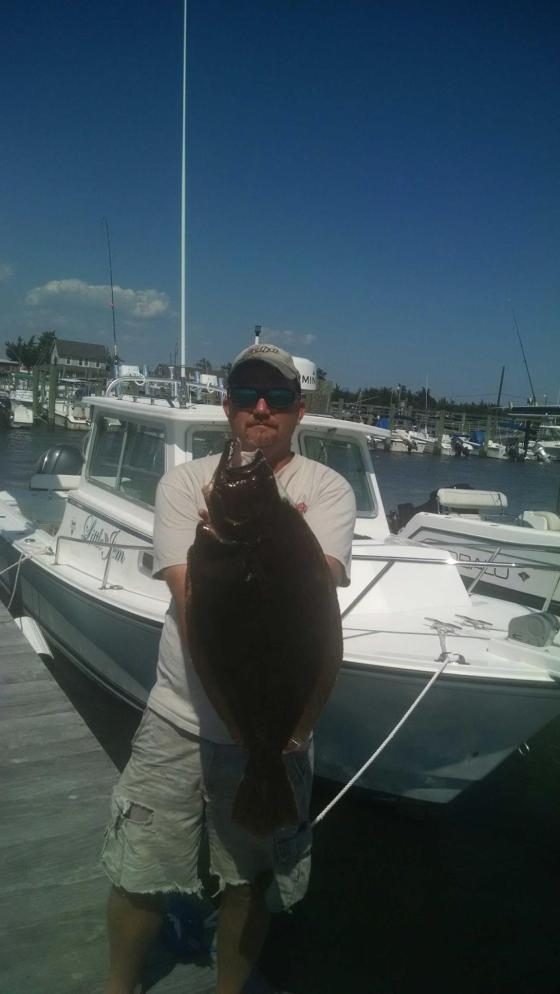 Chip Gruff shows off a 26.5