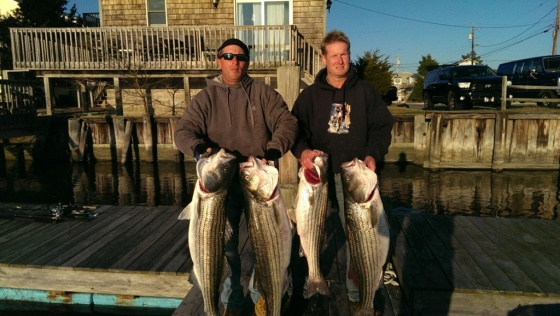 Mark K. and mate with a limit  December 2015 catch